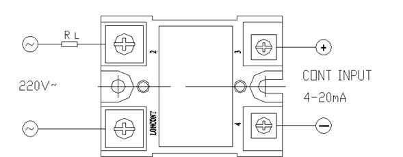 内部①②端为可控硅电路