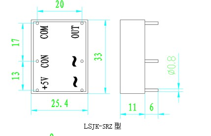 4,移相触发器与随机型固态继电器组成的应用电路图