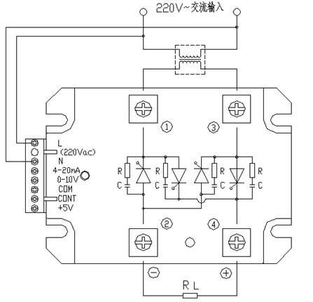 fyb低压系列,接线如下图