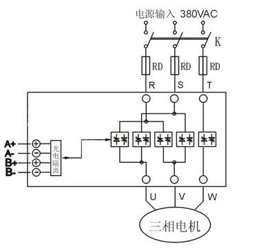 普通型交流电机正反转模块