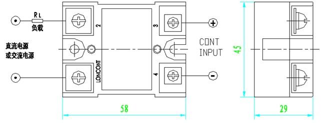交直流两用固态继电器