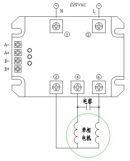 单相电机正反转控制模块